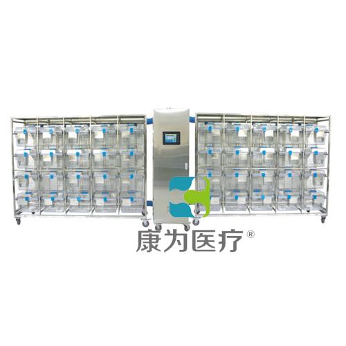 """""""康为医疗""""触摸屏大鼠豚鼠IVC笼具20笼一拖二(PC)"""