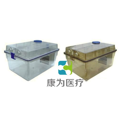 """""""康为医疗""""豚鼠笼盒(可外置式水瓶)KDF/CRU"""