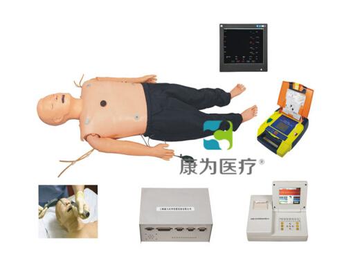 """""""康为医疗"""" 高级多功能成人综合急救训练标准化模拟病人(ACLS高级生命支持、嵌入式系统)"""