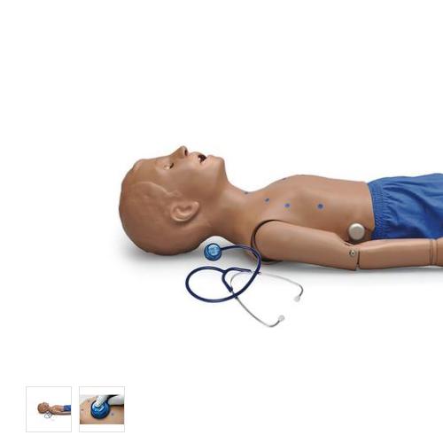 德国3B Scientific®5岁儿童心肺音听诊训练模拟人