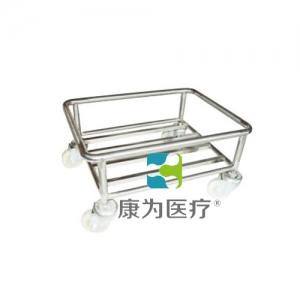 """""""康为医疗""""塑料盒运输车(无柄)"""
