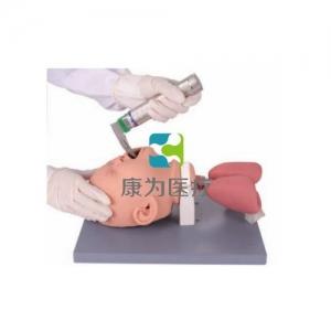 """""""康为医疗""""高级婴儿气管插管训练模型,婴儿气管插管操作模型"""